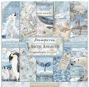 Arctic Antarctic Paper Pad 12 x 12 - Stamperia