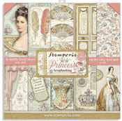 Princess Paper Pad 8x8 - Stamperia