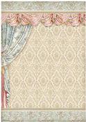 Drapery Rice Paper A3 - Stamperia