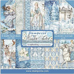 Winter Tales Paper Pad 12x12 - Stamperia - PRE ORDER