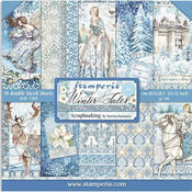 Winter Tales Paper Pad 12x12 - Stamperia