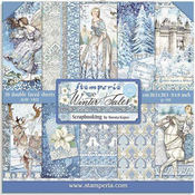 Winter Tales Paper Pad 8x8 - Stamperia