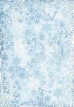 Winter Tales Snowflakes Rice Paper - Stamperia - PRE ORDER