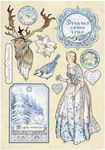 Magic Winter Winter Tales Wooden Shapes - Stamperia