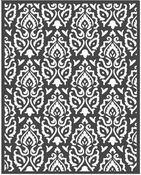 Winter Tales Texture 2 Stencil 7.87 x 9.84 - Stamperia