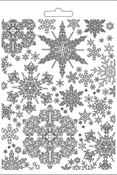 Winter Tales Snowflakes Max Mould - Stamperia - PRE ORDER