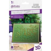 'Tis The Season Gemini 3D Embossing Folder - Crafter's Companion