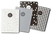 Monochrome Notebook Set - Carpe Diem - Pukka Pads - PRE ORDER