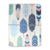 Feathers - Carpe Diem A6 Notebook & Passport Holder - Pukka Pads