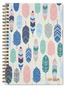 Feathers B5 Carpe Diem Hardcover Notebook - Pukka Pads - PRE ORDER