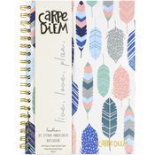 Feathers B5 Carpe Diem Hardcover Notebook - Pukka Pads