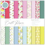 Bright Blooms 6x6 Paper Pad - The Essential Craft Papers - Craft Consortium - PRE ORDER