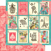 A Winning Hand Paper - Ephemera Queen - Graphic 45 - PRE ORDER