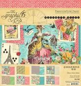 Ephemera Queen 8x8 Pad - Graphic 45