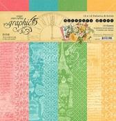 Ephemera Queen Patterns & Solids Pad - Graphic 45 - PRE ORDER