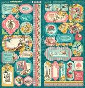 Ephemera Queen Stickers - Graphic 45 - PRE ORDER