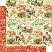Believe in Magic Paper - Christmas Time - Graphic 45 - PRE ORDER