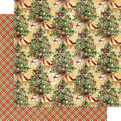 Trim the Tree Paper - Christmas Time - Graphic 45 - PRE ORDER