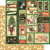 Jingle all the Way Paper - Christmas Time - Graphic 45 - PRE ORDER