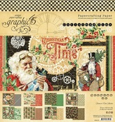 Christmas Time 8x8 Pad - Graphic 45 - PRE ORDER