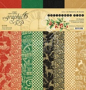 Christmas Time Patterns & Solid Pad - Graphic 45 - PRE ORDER