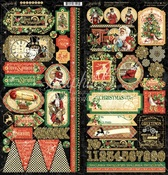 Christmas Time Stickers - Graphic 45 - PRE ORDER