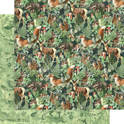 Be Wild Paper - Woodland Friends - Graphic 45