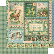 Be Carefree Paper - Woodland Friends - Graphic 45