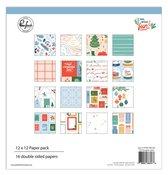 Oh What Fun! 12 x 12 Paper Pack - Pinkfresh Studio - PRE ORDER