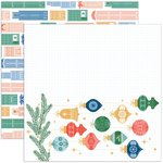 Home For The Holidays Paper - Oh What Fun! - Pinkfresh Studio - PRE ORDER