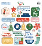 Oh What Fun! Chipboard Stickers - Pinkfresh Studio - PRE ORDER
