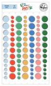 Oh What Fun! Enamel Dots - Pinkfresh Studio