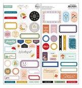 Days Of Splendor Cardstock Stickers - Pinkfresh Studio