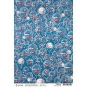 Flying Balloons A4 Rice Paper Sheet - Moon & Me - Ciao Bella