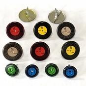 Record - Vinyl - Albums Eyelet Outlet Brads