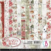 Frozen Roses 6 x 6 Paper Pack - Ciao Bella