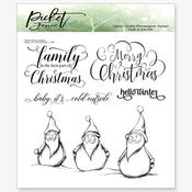 Baby, It's Cold Outside 6x6 Stamp Set - Picket Fence Studios