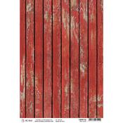 Red Wood A4 Rice Paper Sheet - Ciao Bella