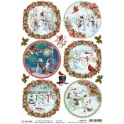 Medallions A4 Rice Paper Sheet - Ciao Bella