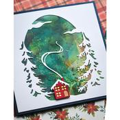 Evergreen Sky Collage Dies- Memory Box