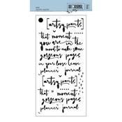 "Artsy Pants-Art Journal Stencil 4.3"" X 8.7"""