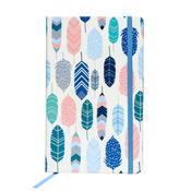 Feathers Carpe Diem Softcover Journal - Pukka Pads
