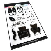 His and Hers Stamp Set - Tie The Knot - Catherine Pooler
