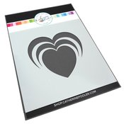 Radiant Heart Stencil - Tie The Knot - Catherine Pooler