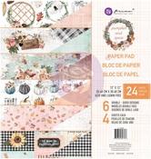 Pumpkin & Spice 12x12 Paper Pad - Prima