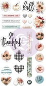 Pumpkin & Spice Puffy Stickers - Prima