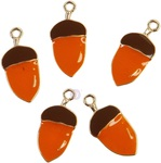 Pumpkin & Spice Enamel Charms - Prima