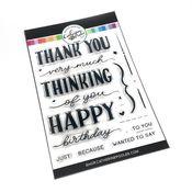 Layered Greetings Stamp Set - Catherine Pooler