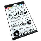 Feeling Peachy Sentiments Stamp Set - Catherine Pooler