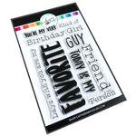 My Favorite Sentiments Stamp Set - Catherine Pooler